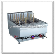 K411 Cocina de pasta de acero inoxidable eléctrica o de gas