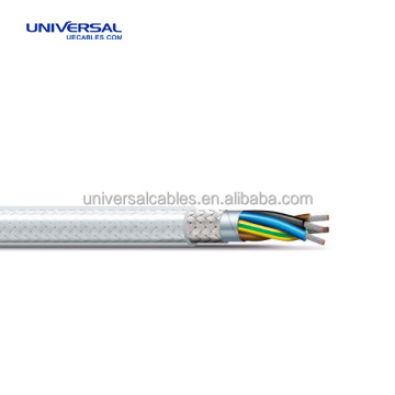 Variable Speed Drive Cable 3 Core and Earth Wire Screened VFD Cable