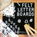 2017 Custom Black Felt Letter Board 10x10 Inches with White Plastic Letters 2017 Custom Black Felt Letter Board 10x10 Inches with White Plastic Letters
