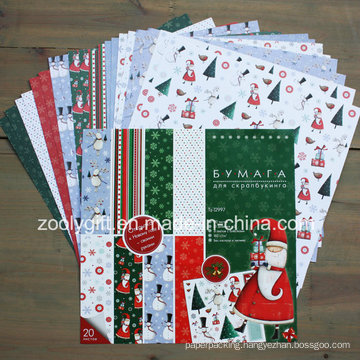 """Christmas Collection 12X12"""" Scrapbook Paper Pack"""