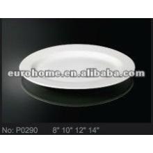 Restaurante que sirve platos de porcelana de cerámica platos de platos de pescado (No.P0290)