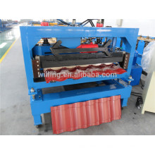 Elegance Galvanized Steel Tile Roof CE Roll Forming Machine