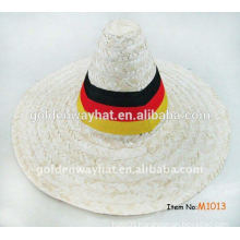 straw hats and mexican sombrero hat for wholesale
