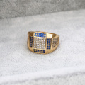 12383 - Xuping Jewelry Fashion 18K Gold Plated Men Rings