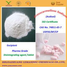 Crosscarmellose Sodium, Pharma Grade Excipiente