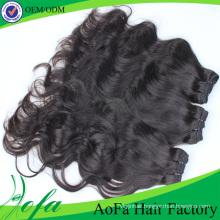 7A Grade Unprocessed Hair Virgin Human Remy Hair Extension