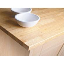 Hochwertige Rubberwood Küchenarbeitsplatten