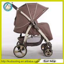 Carrinho de criança de bebê jogger carrinho de bebê dobro partes de plástico