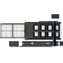 Fiber Laser Cutting Machine Laser 1KW 3015