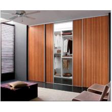 Decorative Wardrobe and Closet Sliding Door, Solid Wood Door for Bedroom