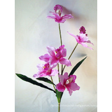 Five Heads Species of Orchid Artificial Flower