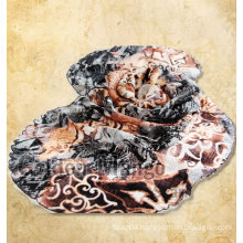 2016 latest 50%wool 50%silk scarf with flouncing
