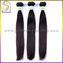 Großhandels-China-Fabrik-Menschenhaar synthetischer Clip balck Haarbrötchenstücke