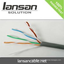 Lansan cat5e lan cabo 4P * 23AWG BC passagem fluke teste de boa qualidade e preço