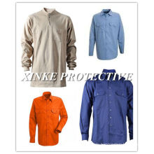 fireproof cotton shirt for workwear