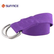 Der hochwertige Yoga-Stretch-Strap-Trainingsgürtel aus 100% Baumwolle