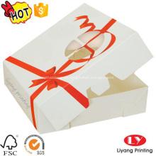 Kuchen-Papierkasten-Geschenkbox des Lebensmittelkuchens des Lebensmittels