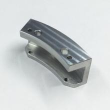 Peças curvas de alumínio de usinagem personalizadas