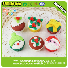 Joy office stationery set festival erasers for christmas