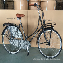 "28"" Classic Black Color Ladies Netherlands Holland Oma Dutch Bike"