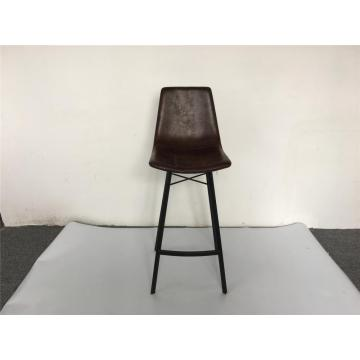 custom made metal PU dining chair