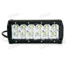 9-32V Waterproof 7.5inch 36watt 2 Row CREE LED Car Light Bar
