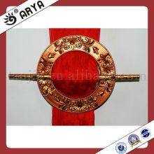 GOLD Resin Curtain Ring Haken, Vorhang Gürtelschnalle, Vorhang Clip für Vorhang Dekoration und Vorhang Befestigung Zubehör