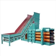 hydraulic Carton compress baler machine/ cardboard horizontal automatic press machine