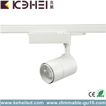 Black White 30W LED Track Lights COB 3000K