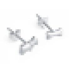 Knochenform Sterling Silber Ohrringe für Frauen