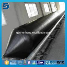 Airbags flotantes del pontoon de goma natural para la elevación de la nave