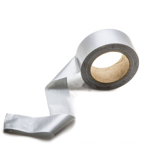 High Adhesive Flex Rubberized Silver Waterproof Duct Sealing Tape For Air Conditioner