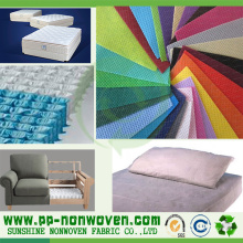 100% Polypropylen Spunbond Sofa Vliesstoff