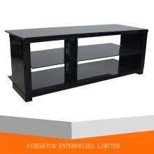 Buen diseño de vidrio y madera TV Stand / mesa de madera TV