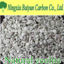 Purificador de agua natural granular de la zeolita del SiO2 68-70% para el tratamiento de aguas
