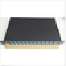 Волоконно-оптическая патч-панель, корпус, 12 портов, загружаемых SC Simplex, патч-панель Rackmount