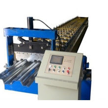 Steel Floor Metal Deck Scaffolding Roll Forming Machine Made in China.