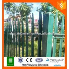 Chine fournie Clôture en fer amovible de haute qualité / clôture en fer forgé