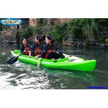 2+1 Seats Sit in Recreational Fishing Kayak