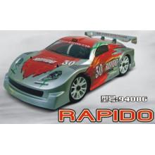 Carro nitro Erc086 1/8 4WD Top 10 Nitro RC carros