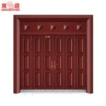 porte principale pliante extérieure en acier