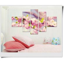 Pfirsich-Blüten-Frühlings-Panel-Malerei