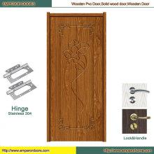 Врезная Деревянная Дверь Входа Деревянная Дверь Внутренняя Деревянная Дверь