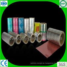 Farbige Aluminiumfolie