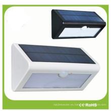 Iluminación impermeable del LED del sensor de movimiento del alto brillo de 38 LED 4W