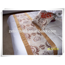Polyester Nice Workmanship Wholesale Price Decoration Bed Scarf