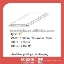 PVC-Blech für Decke & Wand 100mm * 9mm