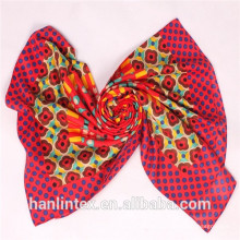 spun polyester solid color voile fabric for scarves/spun polyester voile fabric for drape