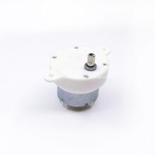 Motor de engranajes de CC con pantalla giratoria JS-40 24V 10RPM