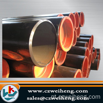 Black steel tube API 5L carbon seamless steel pipe